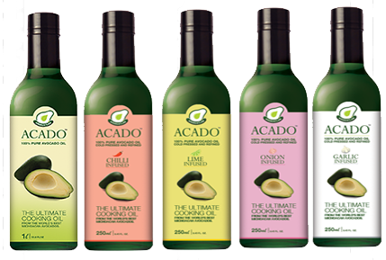 Flavored ACADO<sup>TM</sup> oil